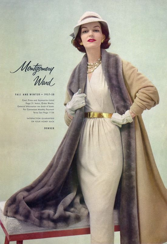 Montgomery Ward Catalog Fall and Winter, 1957-58