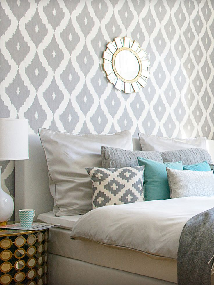 1000 images about bedroom on pinterest beautiful - Ikat muster ethno design ...