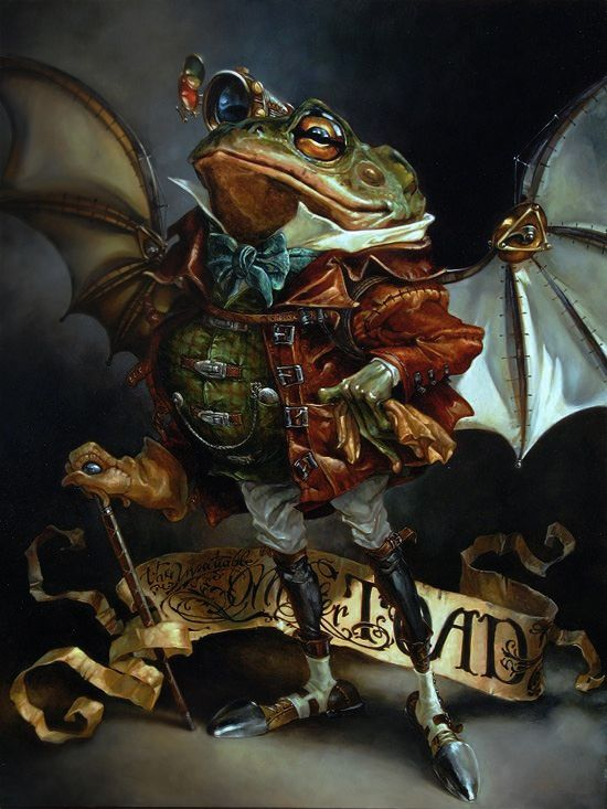 The Insatiable Mr. Toad http://heathertheurer.com/gallery-image/274/