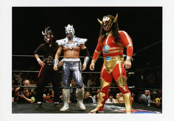 Jushin Liger, Ultimo Dragon, and ? | Crypt Of Wrestling ...