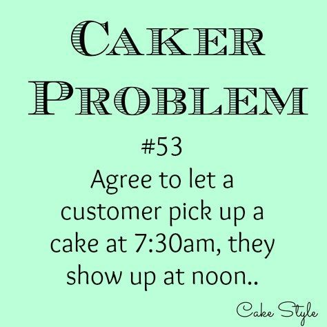 """If you've been caking for a while, you'll know that customers request some crazy things. Like """"Can I order 24 cupcakes, but in six different flavours?"""". """"I need a cake…"""