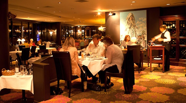 Hippopotamus restaurant and cocktail bar   Museum Hotel, Wellington, New Zealand