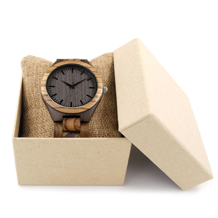 BOBO BIRD Round Vintage Zebra Wood Case Men Watch With Ebony Bamboo Wood Face With Zebra Bamboo Wood Strap Japanese movement That`s just superb!  #shop #beauty #Woman's fashion #Products #Watch
