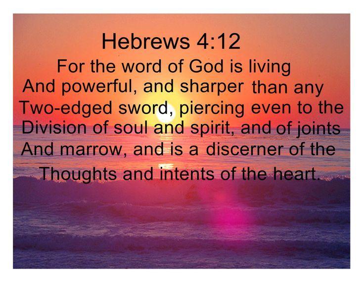 Jesus ......hebrews 4:12   GOD is love♥   Pinterest