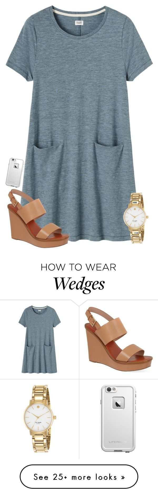 """Not the best..."" by laxsoccerlover36 on Polyvore featuring Toast, Tory Burch, LifeProof, Kate Spade, women's clothing, women, female, woman, misses and juniors"