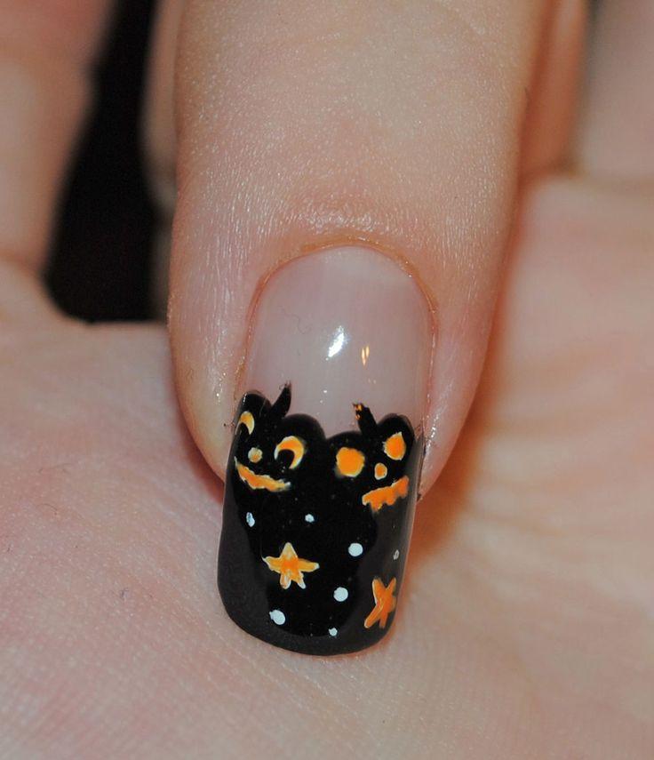 Mejores 249 imágenes de Halloween Nails en Pinterest | Decoración de ...