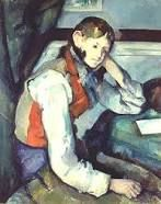 Paul Cezanne - 'The Boy in the Red Vest' (1889) Impressionism