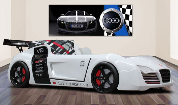 Awesome Beds 4 Kids Quattro V8 Car Bed 1 599 00 Http