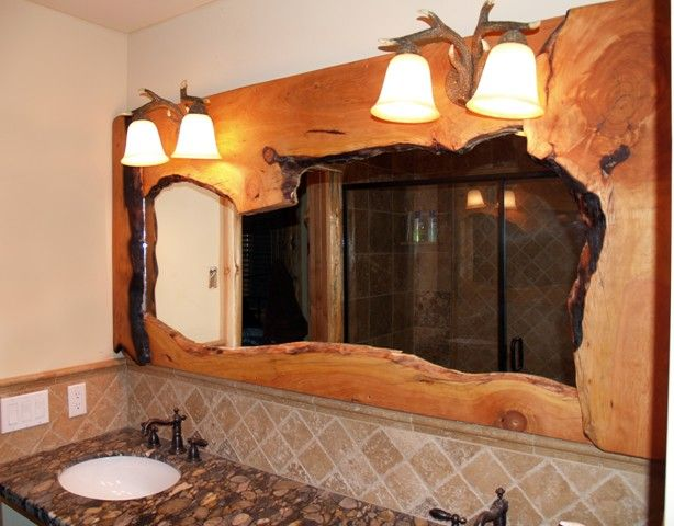 Best 25+ Rustic bathroom mirrors ideas only on Pinterest | Pallet ...