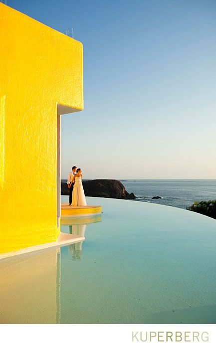 Mexico Destination Wedding Resort With Infinity Pool Lindsey And Nic In Costa Careyes
