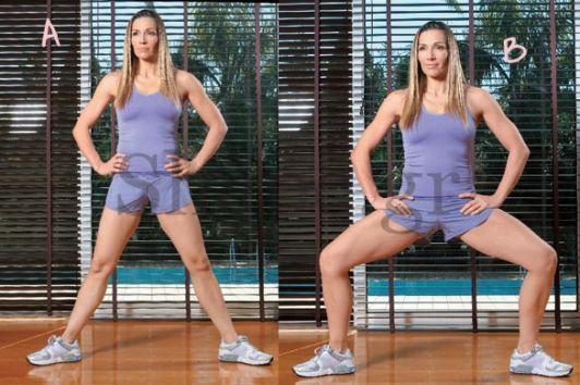 Πρόγραμμα ασκήσεων για να αποκτήσεις σέξι πόδια μέσα σε ένα μήνα, αφιερώνοντας στη γυμναστική μόνο 30 λεπτά την ημέρα.