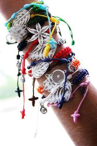 ☮ American Hippie Bohemian Boho Style ~ Jewelry .. Bracelets