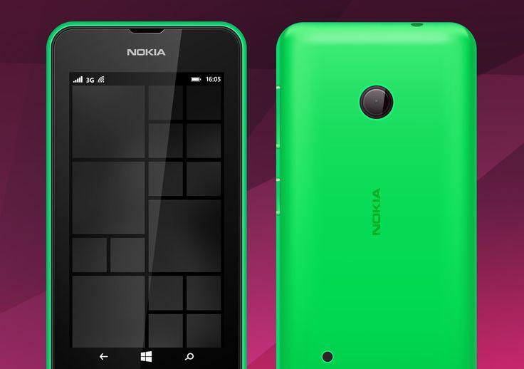 Alfreedo free stuff - Mockup - Nokia Lumia 530 - Windows 8, Windows phone, Lumia, Nokia