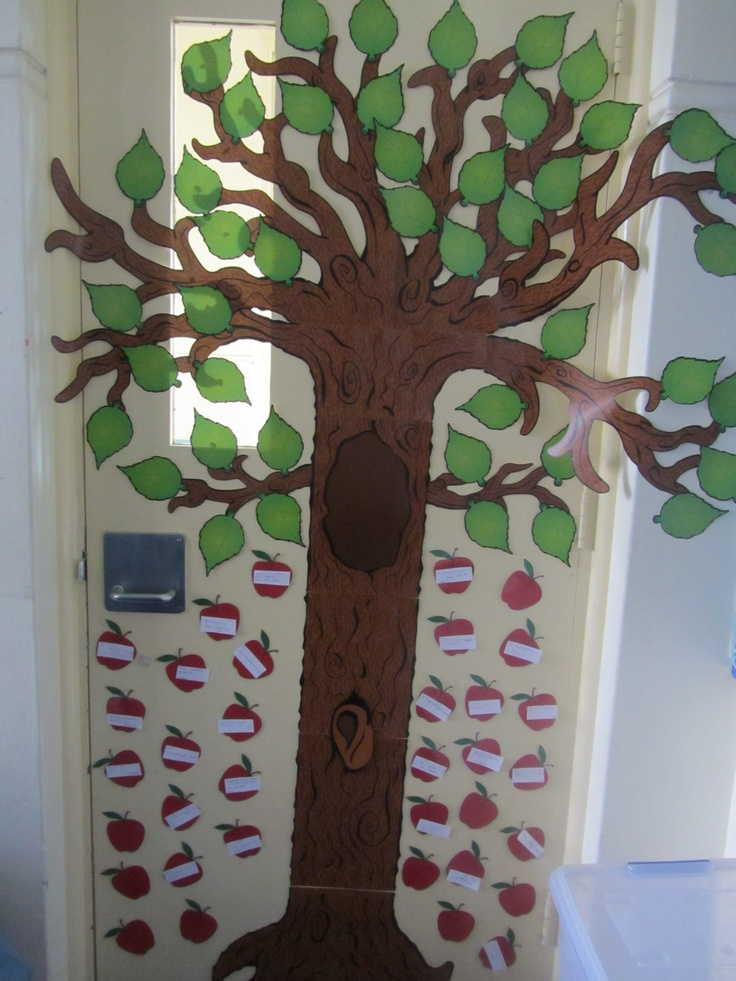 In our classroom, the children write a good deed (act of kindness) and place it on an apple on our good deed tree.