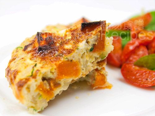 Zucchini & Sweet Potato Frittata | Mmmm Mmmm Good | Pinterest