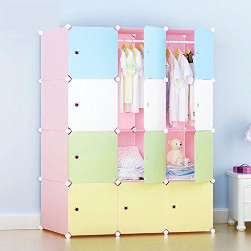 oltre 25 fantastiche idee su contenitori per armadio dei bambini ... - Armadio Per Camera Da Letto
