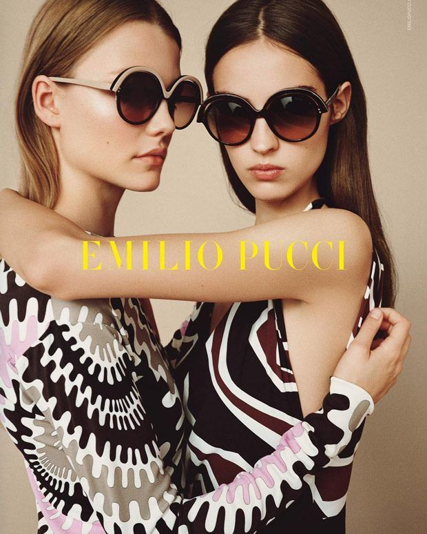 Emilio Pucci Spring Summer 2017 Starring Roos Abels and Camille Hurel