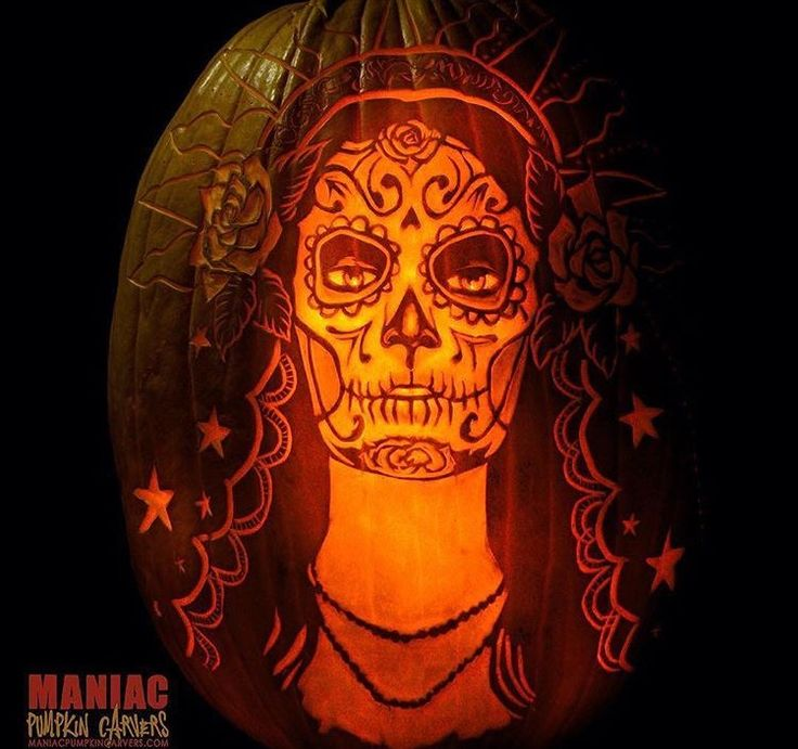 1000 ideas about skull pumpkin on pinterest sugar skull for Skull pumpkin carving ideas