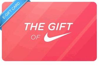 $100 Nike e-Gift Card | Gift Cards | Pinterest