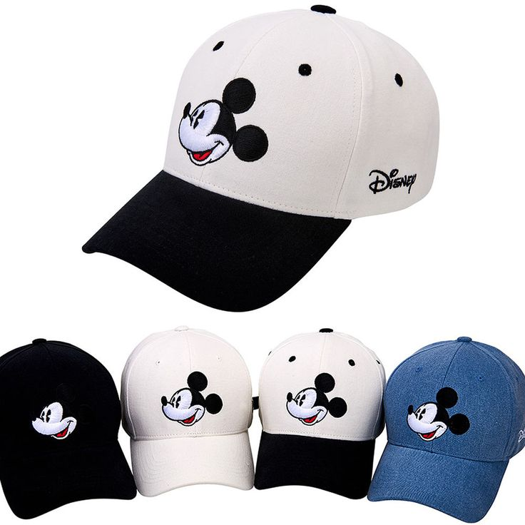 Men Women Authentic Disney Mickey Mouse Face Trucker Baseball Strapback Cap Hats #hellobincom #BaseballCapHats