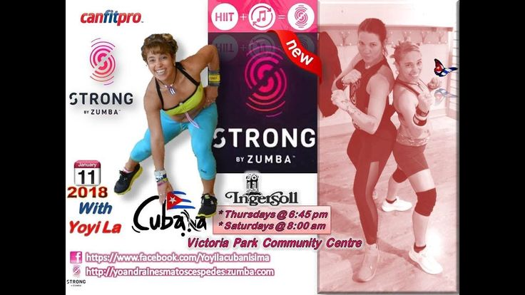 Strong By Zumba With Yoyi La Cubana - YouTube