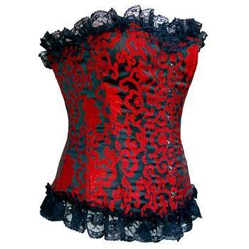#corset #corsé #rojo en #oferta $49.99 euro en #empspain la mayor tienda online de Europa de Merchandising oficial de bandas de #Metal #HardRock #Heavy Ropa #Gotica #Punk y todo lo que te hace falta para vivir el Rockstyle en toda su dimensión... - http://emp.me/BYX