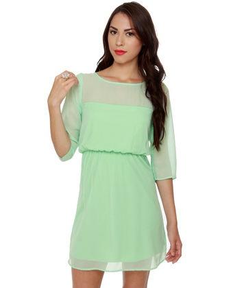 I love this dress!: Spring Dresses, Color, Bridesmaid Dresses, Cute Dresses, Day Dresses, The Dresses, Sea Glasses, Mint Green Dresses, Glasses Mint