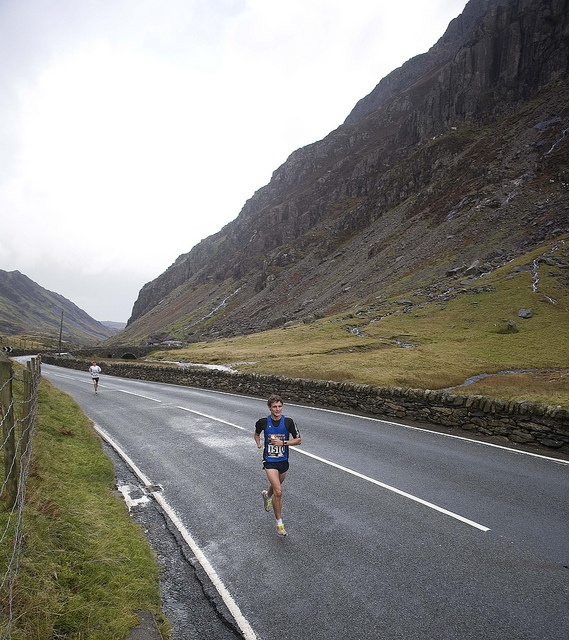 Snowdonia Marathon. Very hilly, but spectacular scenery.