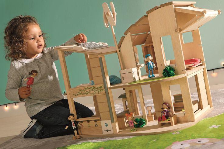 La maison écologique à la fois jouet et déco
