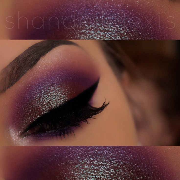 Makeup Geek Insomnia on the Lid!  Instagram: @shandellalexis_