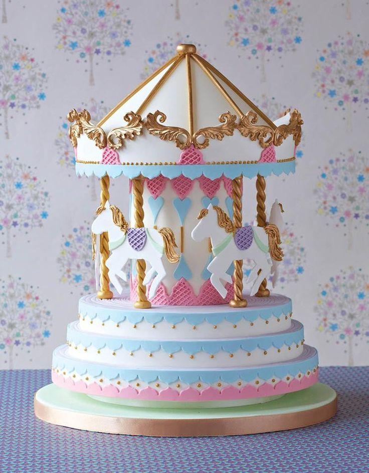 Carousel Cake by Zoe Clark Cakes