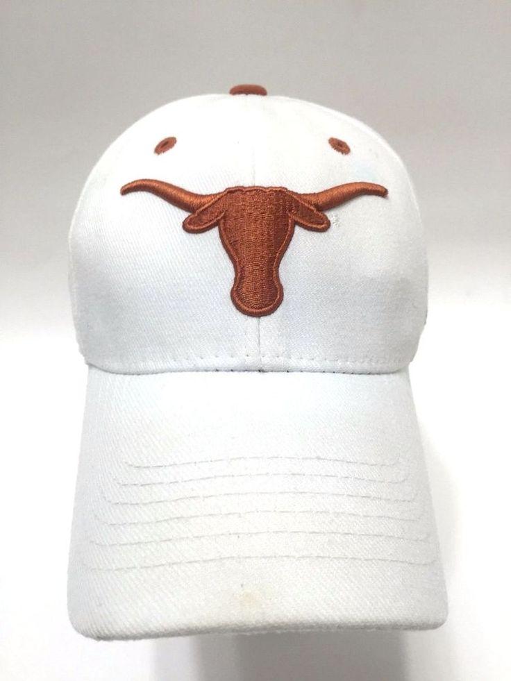 Texas Longhorns Rose Bowl 2006 NCAA Baseball Hat Cap One Fit White Wool Blend  | eBay