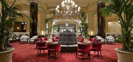 The Fairmont San Jose's Lobby Lounge has live music most nights