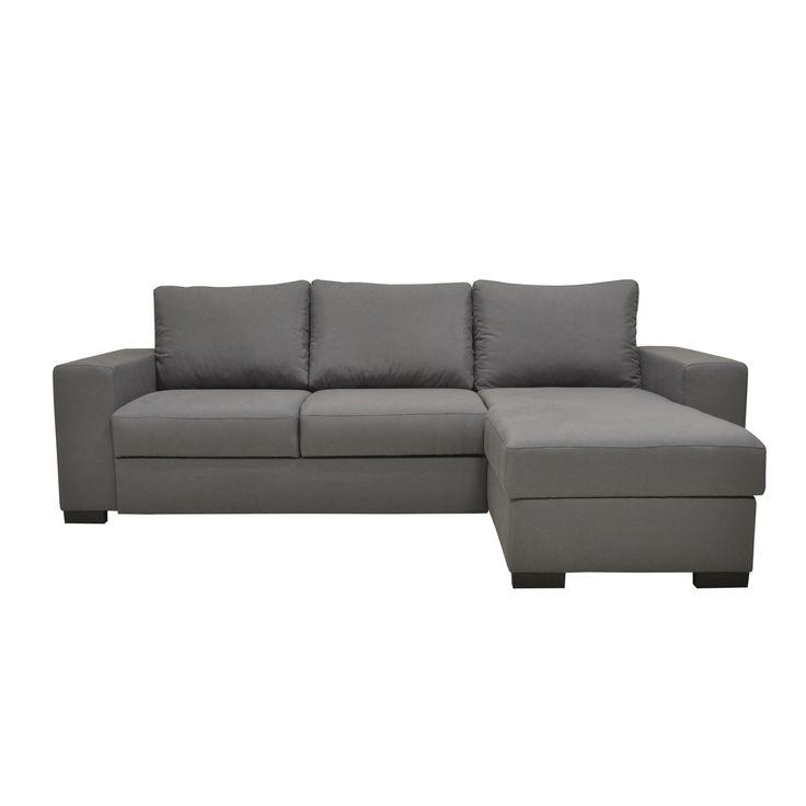 Canapé d'angle réversible convertible avec coffre gris - Rosy - PROMOS du Moment-Promos-Alinéa FR - Décoration intérieur - Alinea