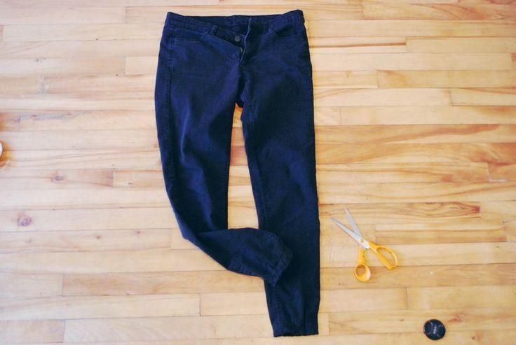 Elastic cuffed pants