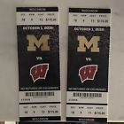 Ticket  2 Michigan Wolverines Football Tickets Against Wisconsin October 1 2016 #deals_us