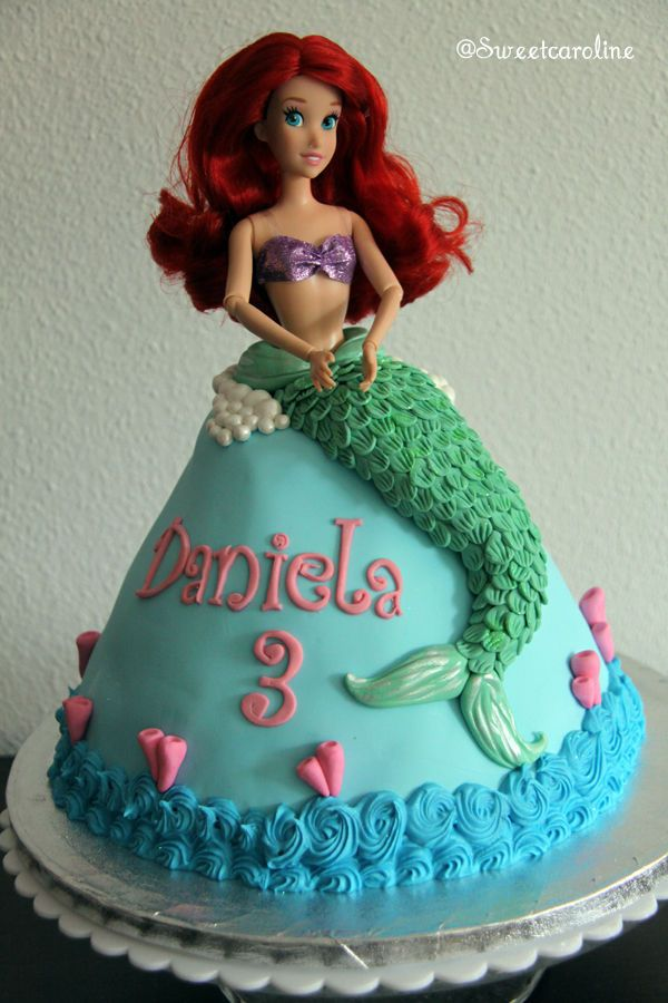 306 best Disneys Little Mermaid Cakes images on Pinterest Little