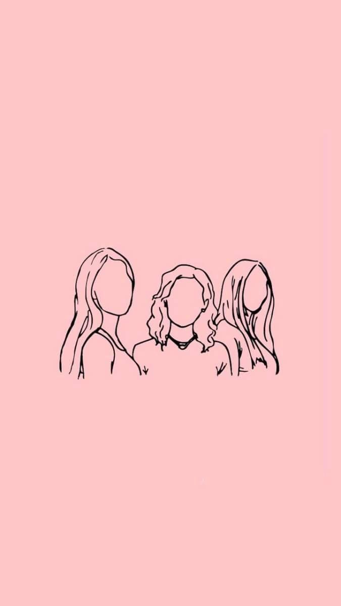 Imagem De Girl Wallpaper And Lockscreen Pink Wallpaper Desktop Minimalist Wallpaper Wallpaper Iphone Love