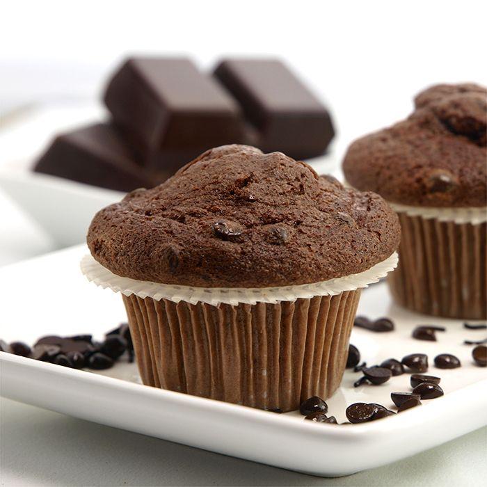 Nigella's Chocolate Banana Muffins