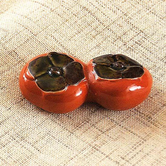 柿の箸置き - 箸置き専門ショップ 箸まくら