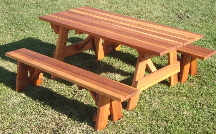 Thrailkill Wooden Picnic Table