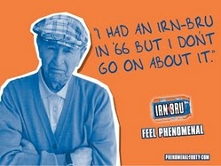 Irn Bru advert so funny yep england do go on about the 66 world cup toooooooo much