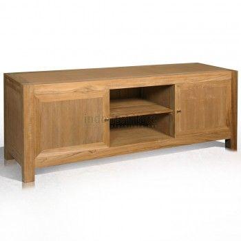 Lemari TV atau Rak TV ini dari bahan dasar kayu jati perhutani (TPK), kayu yang terjamin kualitasnya. Anda juga bisa memesan rak TV sesuai model yang Anda inginkan.