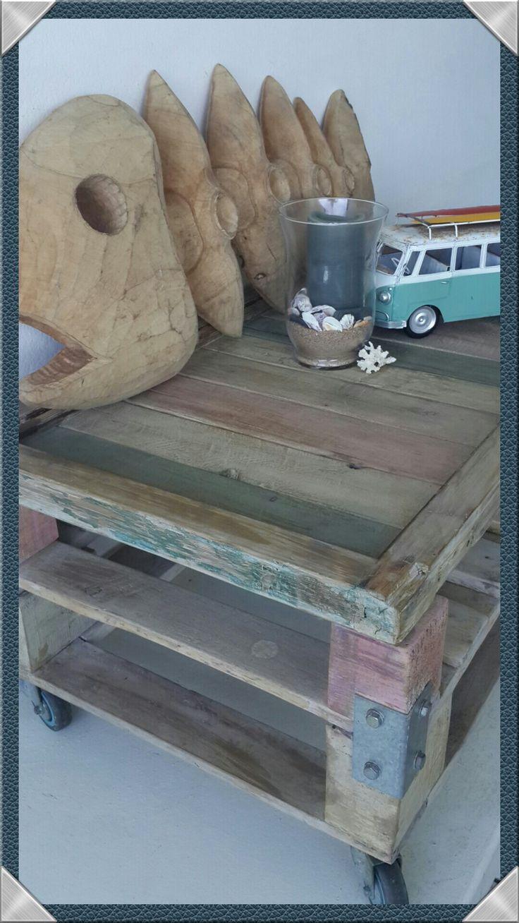 Pallet beach coffee table