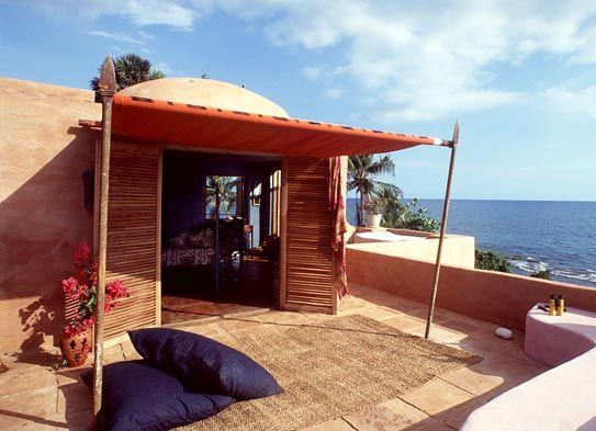 Jakes Jamaica Hotel, Treasure Beach, Jamaica.  Off the wall and full of fun.  Good food, good views, private beach.