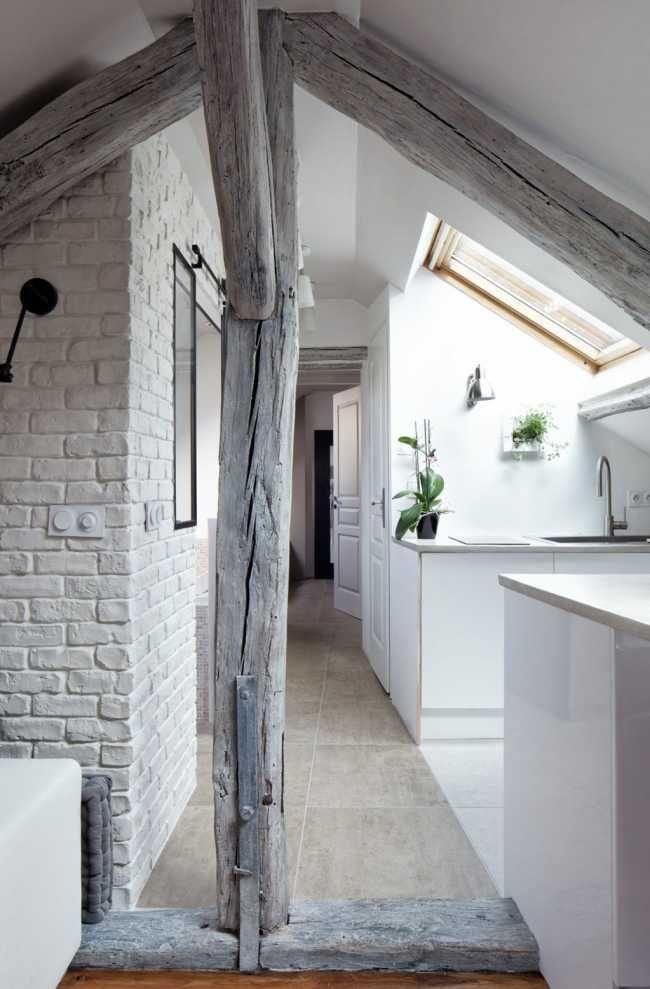 Originálne zrekonštruované podkrovie vo Francúzsku | Interiér | Architektúra | www.asb.sk