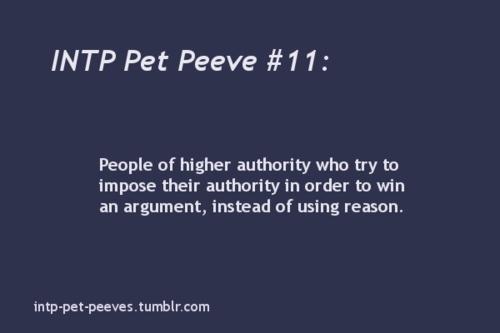 Intp Pet Peeves