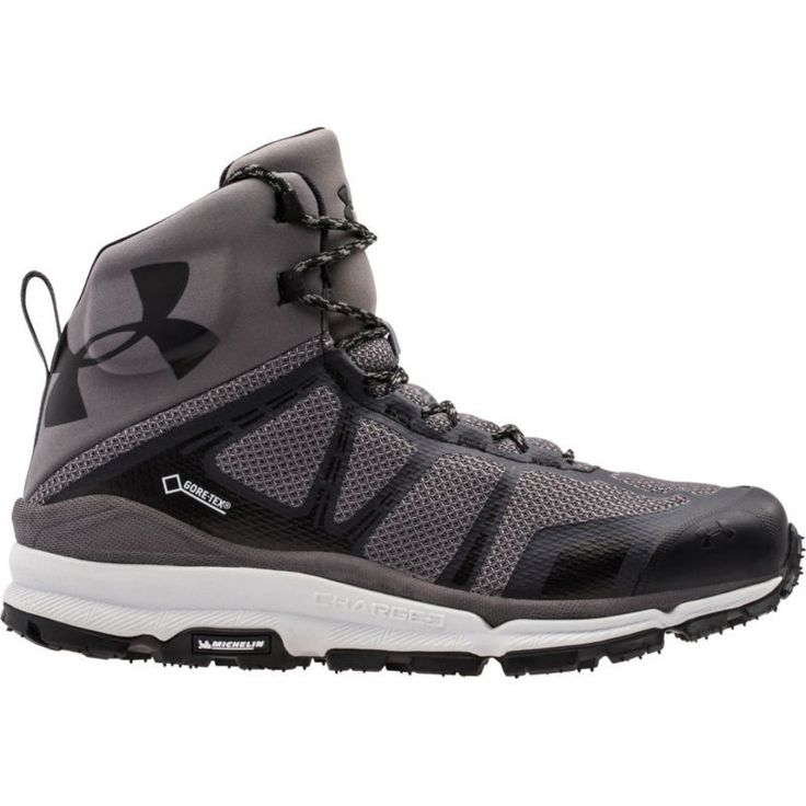 Under Armour Men's Verge Mid Gore-TEX Hiking Boots, Size: 10.0, Grey