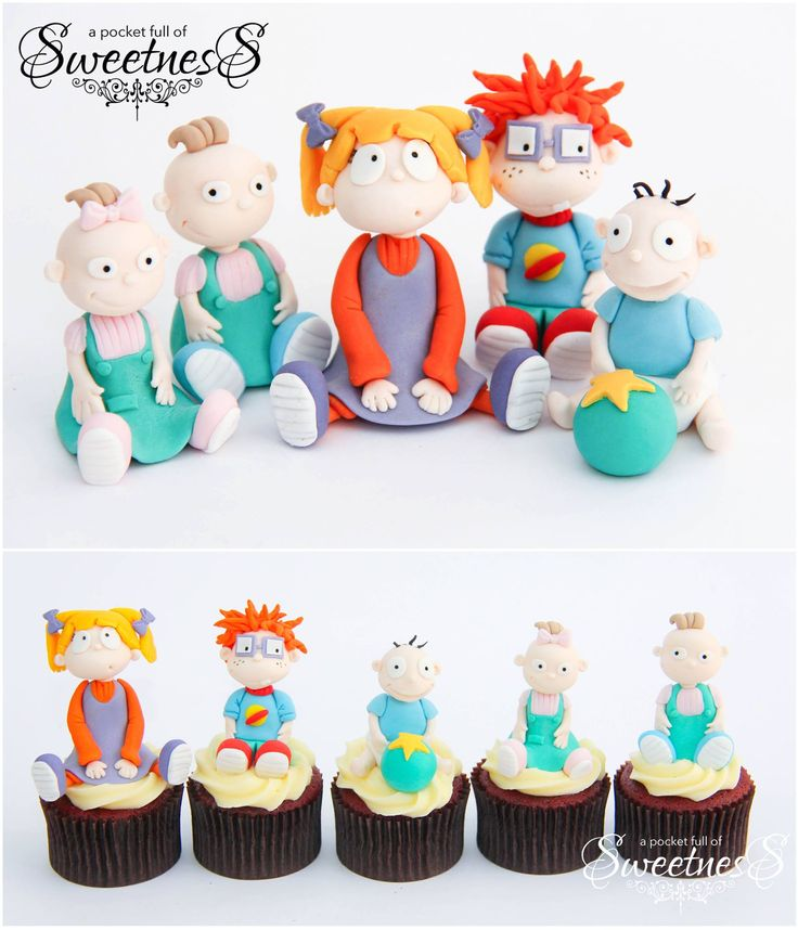 Rugrats Birthday Cake Toppers