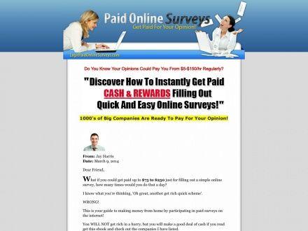 Legitpaidonlinesurveys.com – 450 Paid Online Surveys
